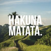 Hakuna Matata VS - VISUAL STATEMENTS