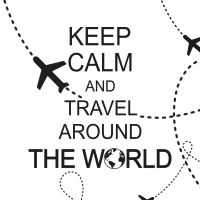 Keep calm and travel - DeinDesign