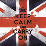 Keep calm and carry on - British - Statement Collection